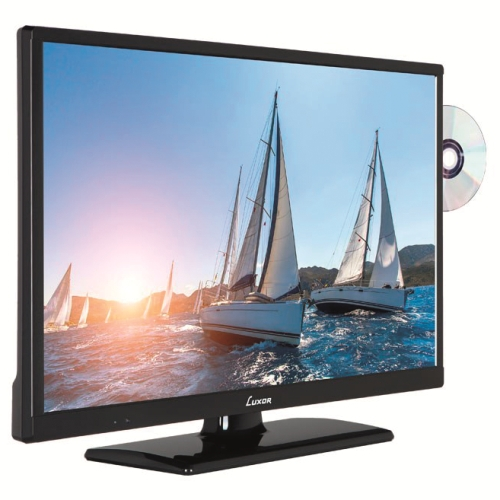 "TV LED 24"" MED DVD LUXOR"
